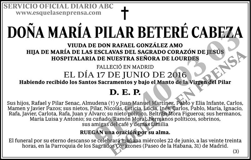 María Pilar Beteré Cabeza